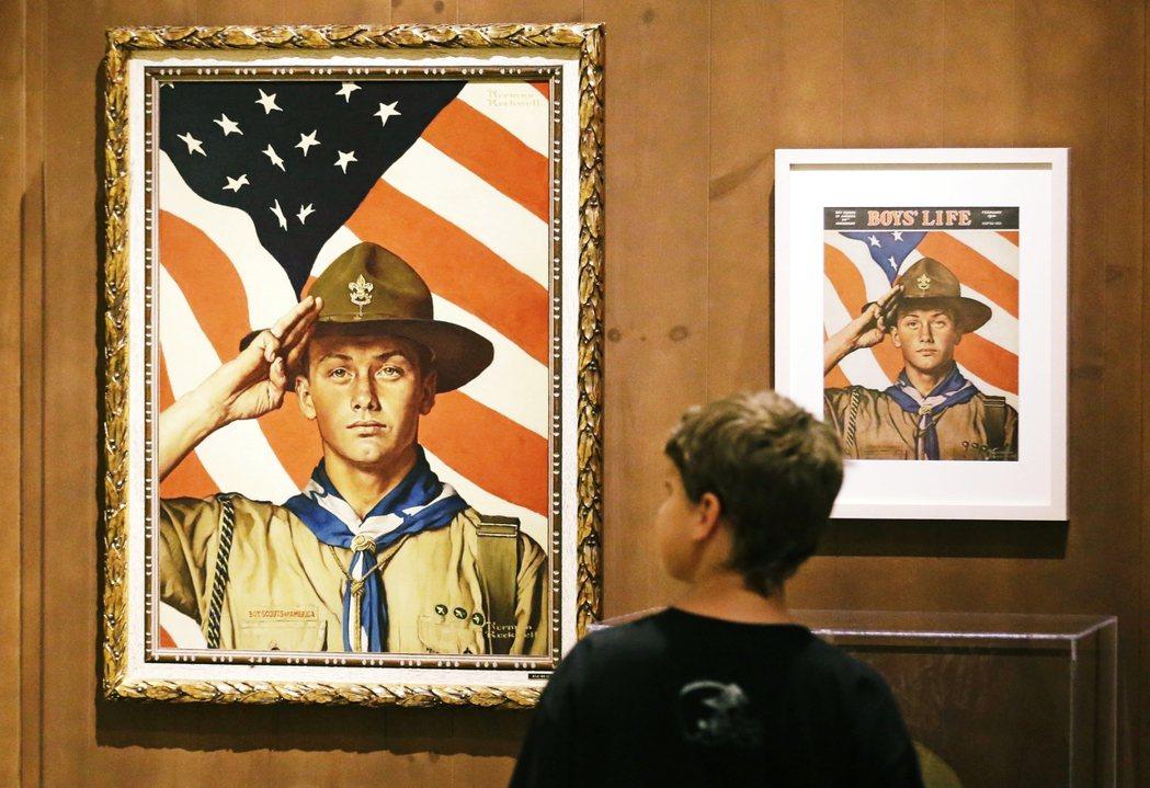 美國童軍的「正面形象」之所以深植人心,與20世紀初的畫家、同時也是美國童軍《Bo...