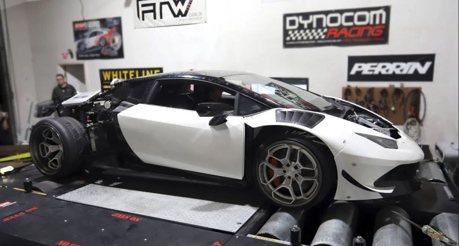影/Lamborghini Huracan小牛超跑植入美式V8?車主有事嗎?