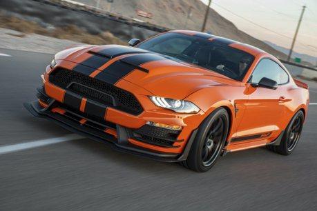 限量50台的超級野馬!825匹馬力Shelby Mustang 讓你如癡如醉