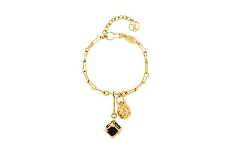 Minigram Egg trunk手環,售價19,600元。圖/LV提供