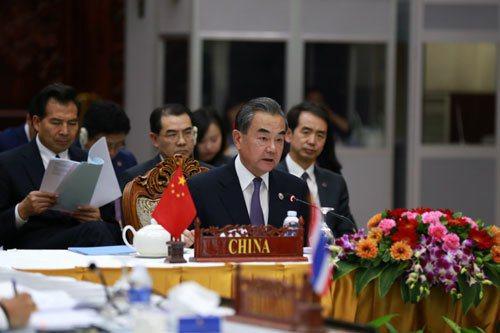 大陸國務委員兼外交部長王毅。圖/取自大陸外交部網站