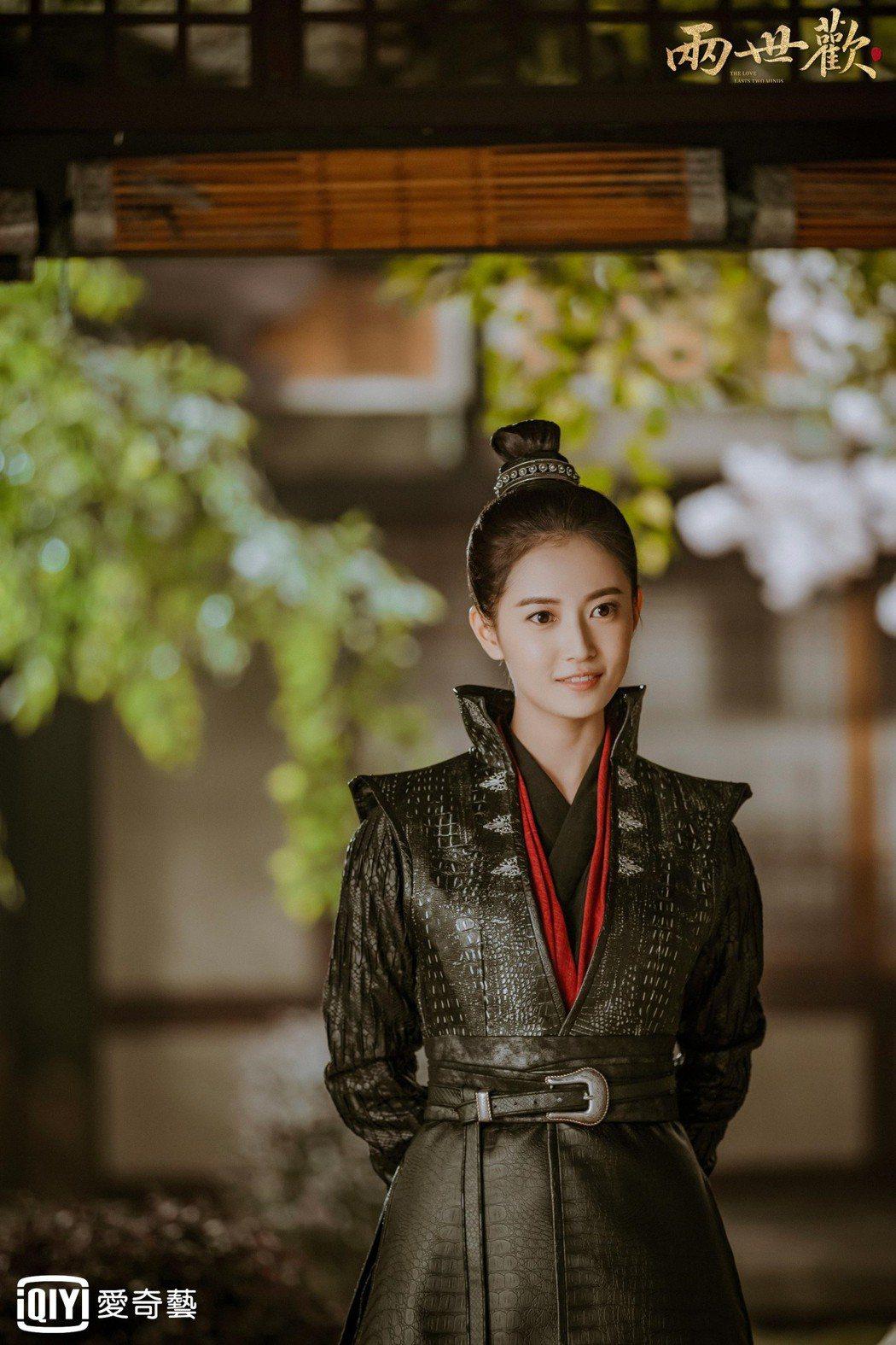 陳鈺琪在「兩世歡」戲中以男裝現身。圖/愛奇藝台灣站提供