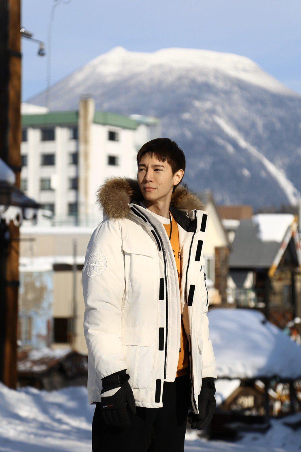 吳珝陽日前到北海道旅遊。圖/伊林提供