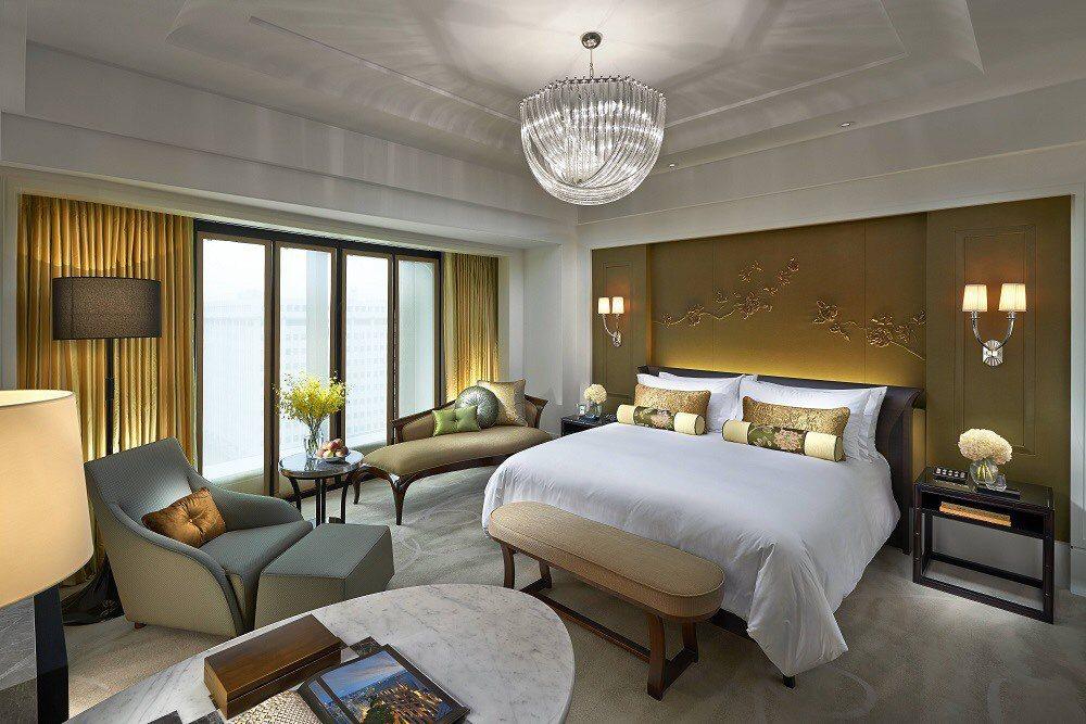台北文華東方酒店客房。 圖/微風提供