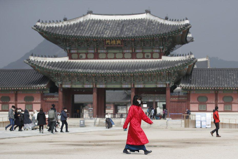 南韓「最後淨土」蔚山市22日出現首例新冠肺炎確診患者。 美聯社