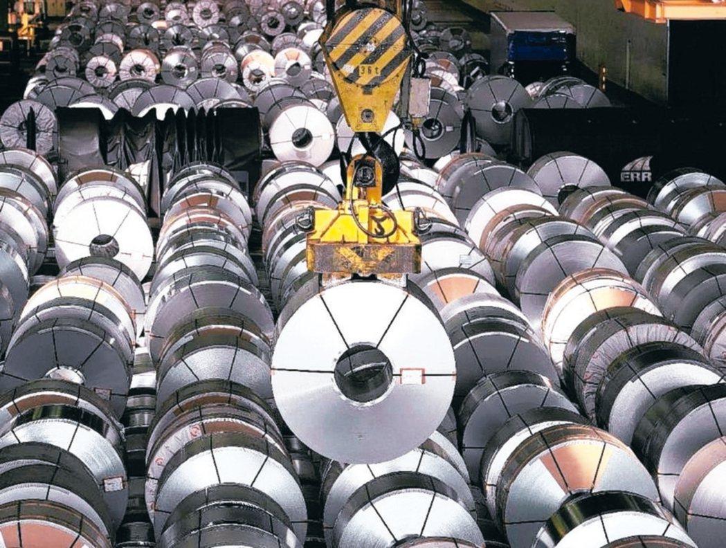 國內鋼鐵龍頭中鋼開出4月及第2季新盤,平均漲1.9%。 本報系資料庫