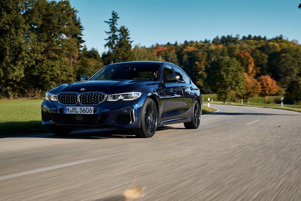 BMW M首次推出全新BMW M340i xDrive。 圖/汎德提供
