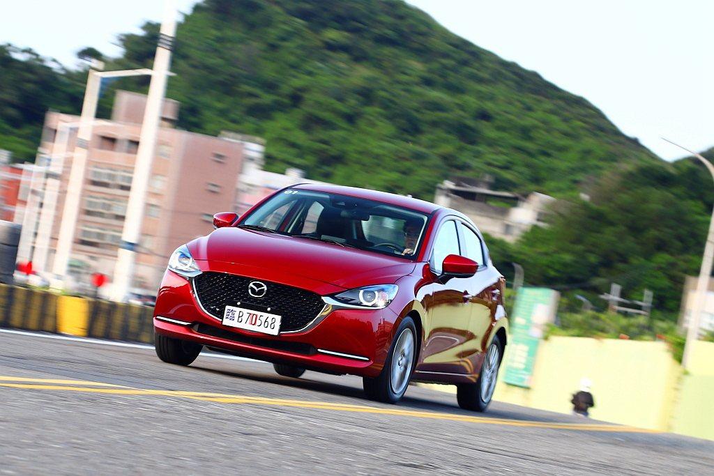 小改款Mazda 2正式在台灣開始販售,預計4月起開始交車。 記者張振群/攝影