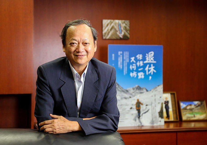 圖/中華捐血運動協會理事長、前衛生署署長葉金川。賴永祥攝