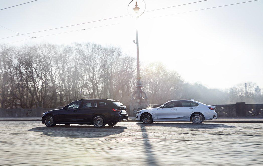 進入G20/G21世代後的BMW 3 Series,在動力編成方面多了330e插...