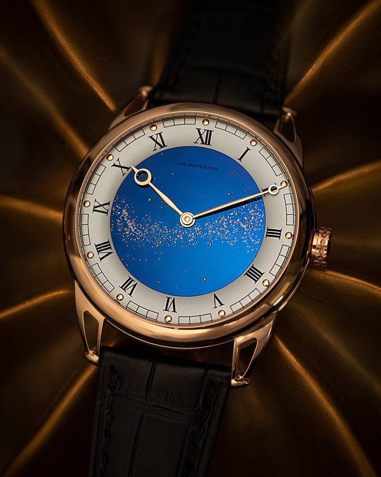 De Bethune,DB 25 Staryy Varius玫瑰金腕表,時間顯示...