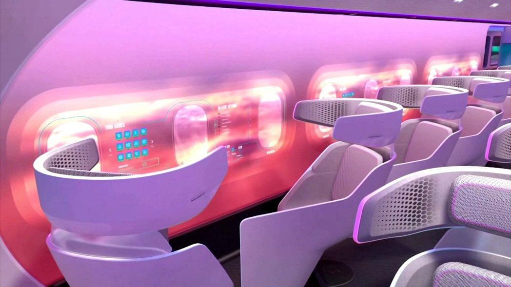 空中巴士公司近日公開未來客機概念機「MAVERIC」的模型和介紹影片。「MAVE...