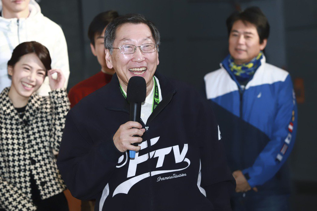 民視總經理廖季方感謝劇組努力不懈,「多情城市」坐穩收視冠軍。圖/民視提供