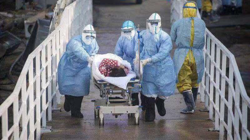 新冠肺炎疫情仍蔓延。 美聯社