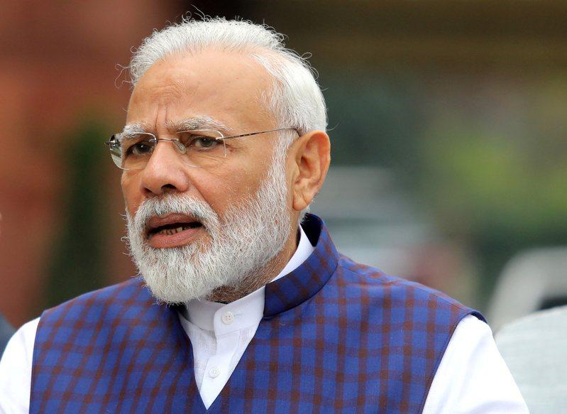 印度總理莫迪宣布從25日凌晨起,全國民眾禁足21天。 路透
