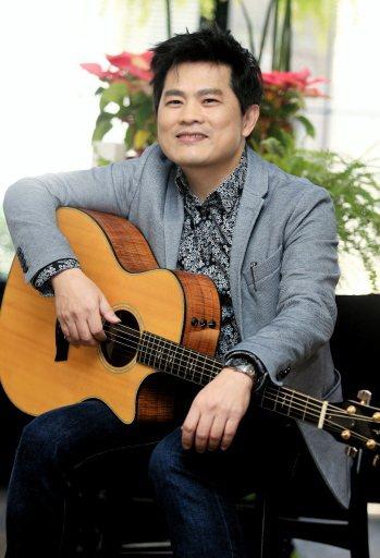 「律師歌手」蘇明淵曾是梁朝偉與孫耀威的師弟。記者陳正興/攝影
