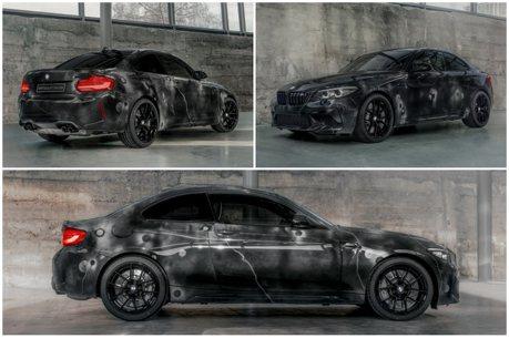 BMW與Futura 2000攜手合作 限量推出BMW M2 Competition藝術塗裝版