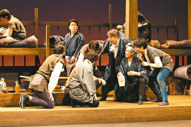 日本熟男團體「52PRO!」劇團《夾縫轍痕》。 圖/52PRO!提供