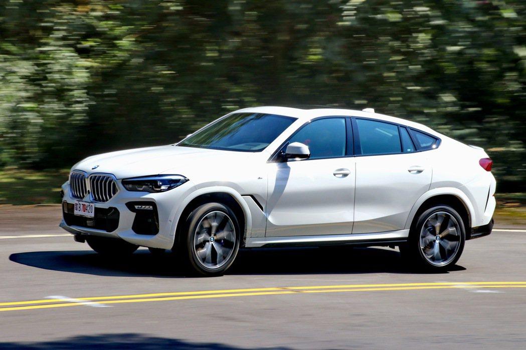 BMW X6 xDrive 40i M Sport維持優異操控之餘,更增加諸多先...