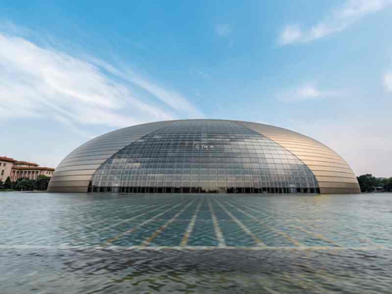 北京國家大劇院。取自星島網