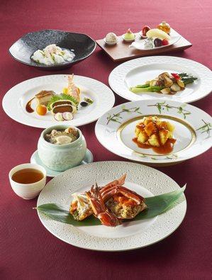 欣葉食藝軒主打台菜,是唯一擁有高樓景觀的台菜餐廳。 圖/欣葉集團提供