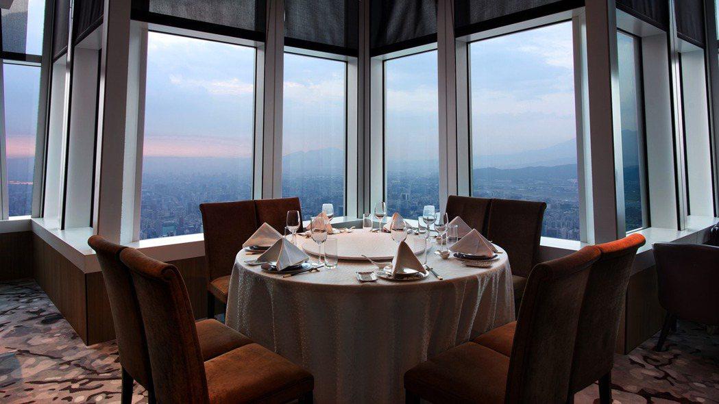 欣葉食藝軒位於台北101高樓。 圖/欣葉集團提供