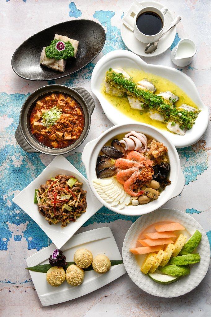 高雄國賓飯店提供餐點外送服務。圖/高雄國賓店提供