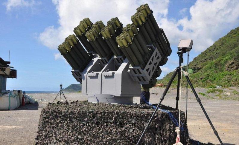 中科院研發的陸基複合式遙控火箭系統。圖/中科院提供