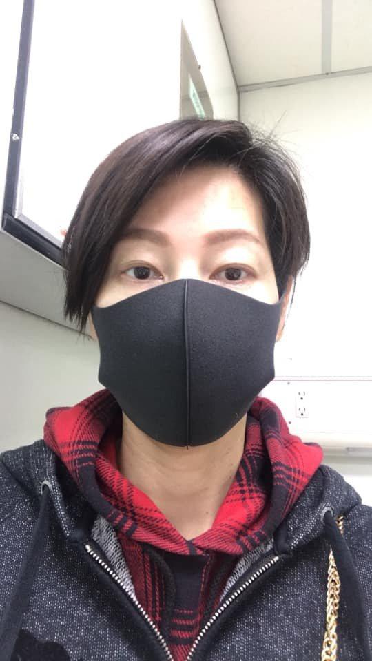 丁寧把口罩留給第一線需要的人。圖/摘自臉書