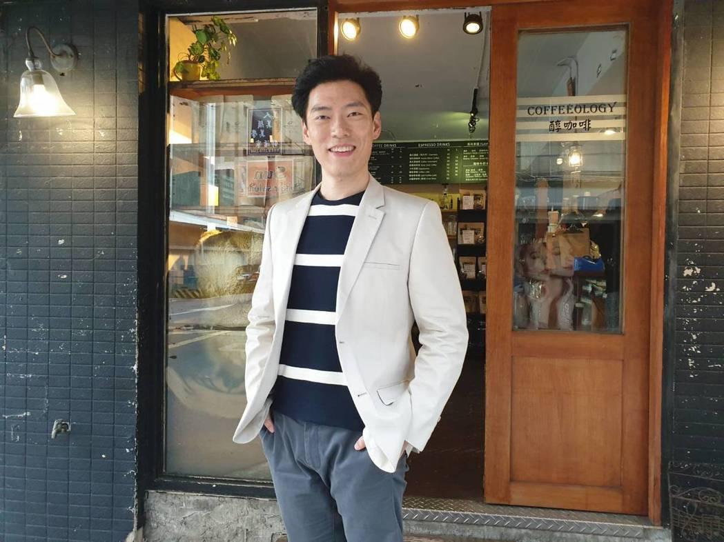 王凱傑對台灣防疫能力深具信心。記者李姿瑩/攝影