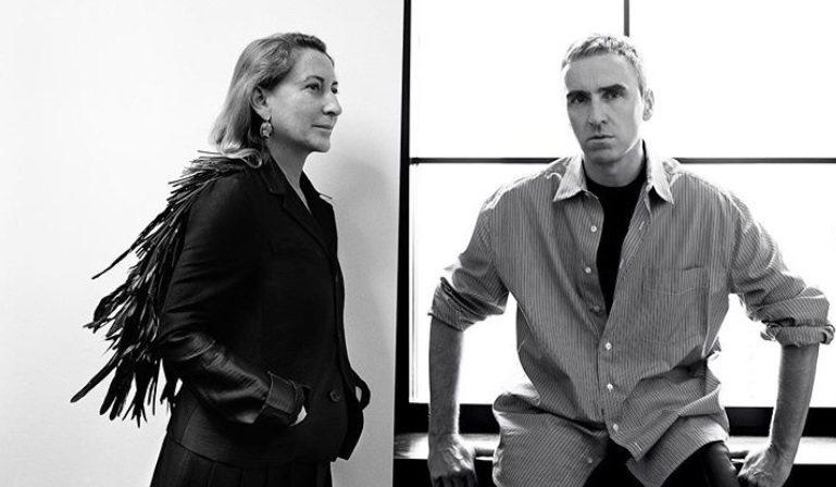 PRADA官方IG稍早貼文表示,自今年4月起,Raf Simons的新職位是與Miuccia Prada攜手擔任PRADA共同創意總監。圖/摘自IG