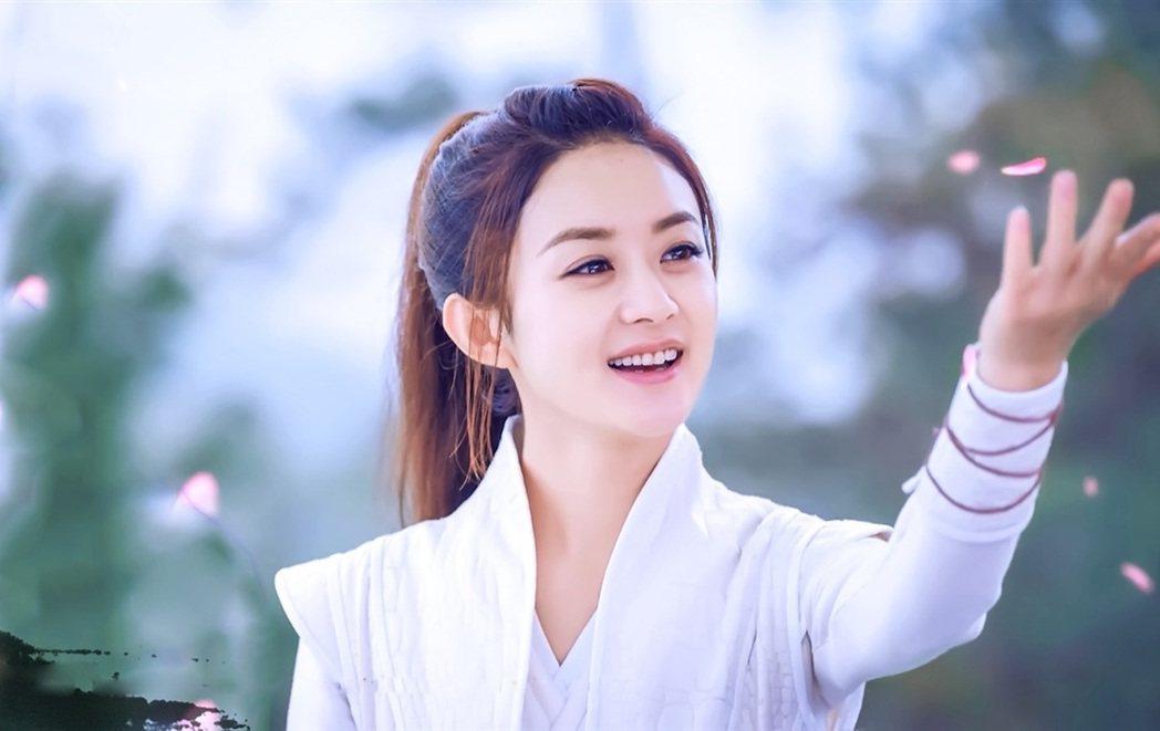 趙麗穎主演「楚喬傳」。圖/中天提供