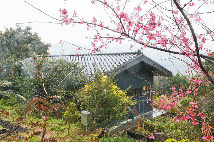 陽明山上的西恩花園。 陳立凱/攝影
