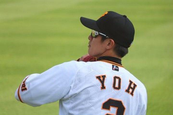 陽岱鋼今天被升回一軍出賽,在對上橫濱隊的練習賽擔任先發第8棒、指定打擊,3打數有1支安打,還挨一記觸身球。 擷圖自推特