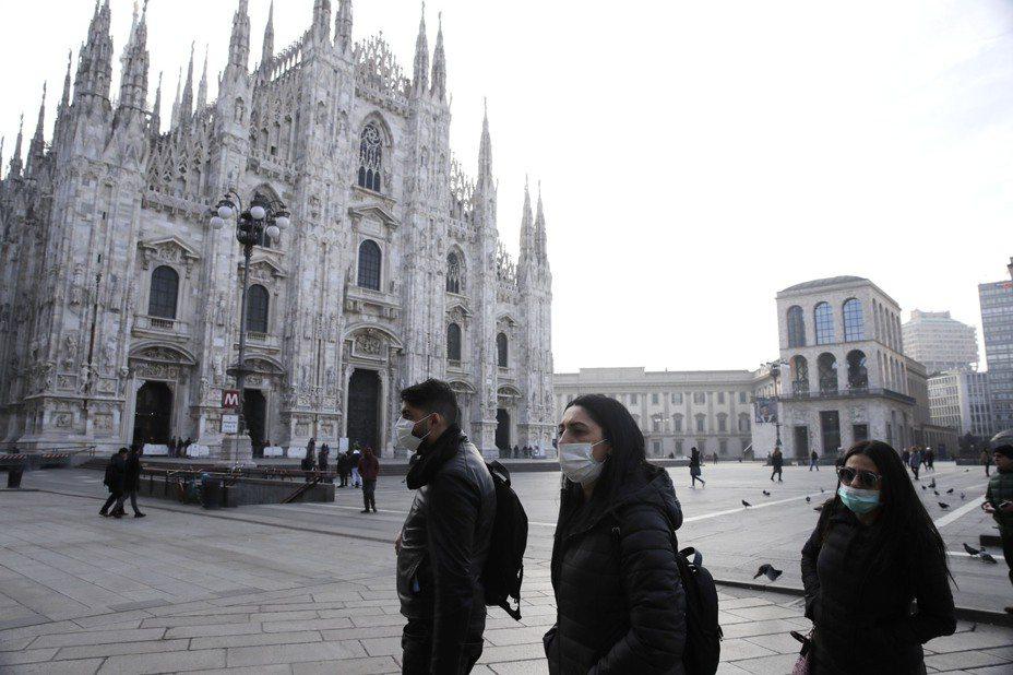 義大利民防保護部部長24日表示,該國北部倫巴底地區一名88歲新冠肺炎男性患者病逝,為國內第5起死亡病例。 美聯社