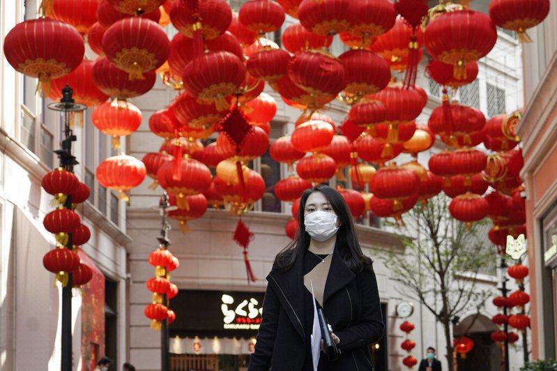 香港新冠肺炎病例累計至今達74例。 美聯社