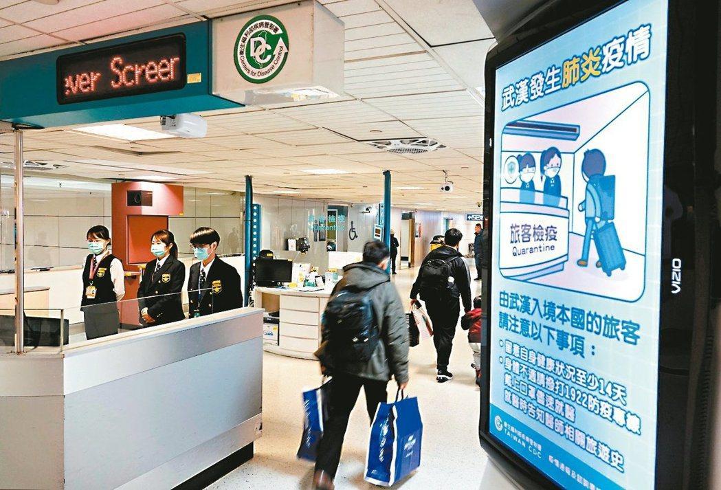 因新冠肺炎,不少旅行社與旅客行程大亂。 圖/聯合報系資料照片