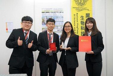 屏東科技大學生物科技系施玟玲教授團隊。 中華創新發明學會/提供。