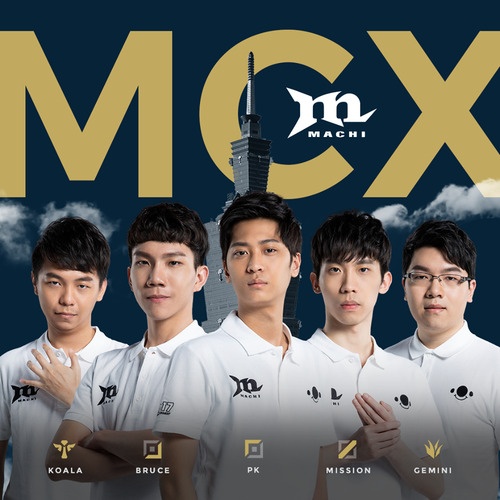 Machi戰隊選手由前G-Rex成員所組成/圖片截自PCS FB粉絲專頁