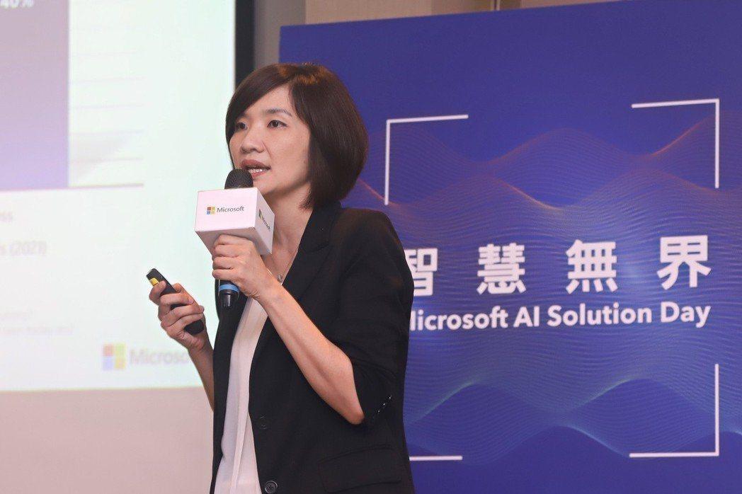 IDC台灣總經理江芳韻。 報系資料庫。