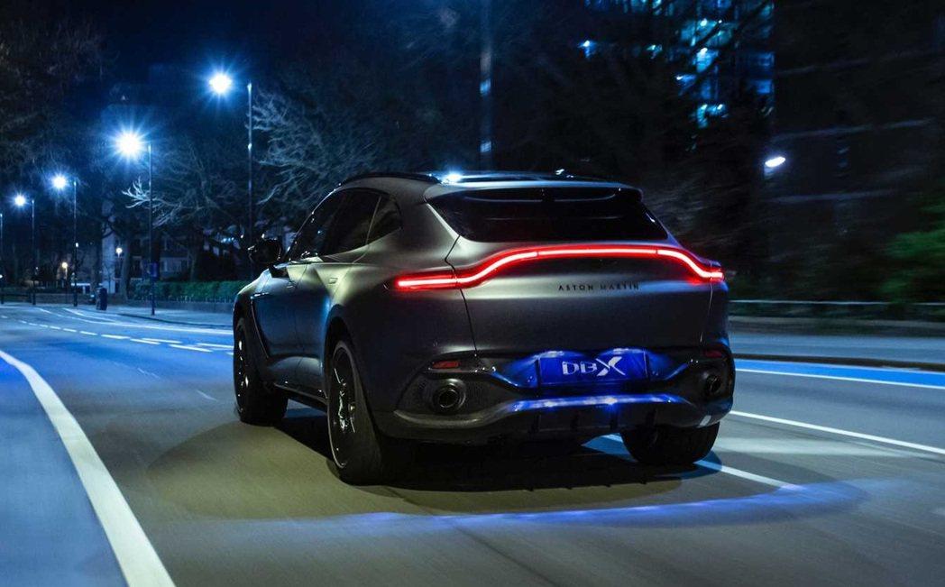 Aston Martin DBX By Q。 Aston Martin提供