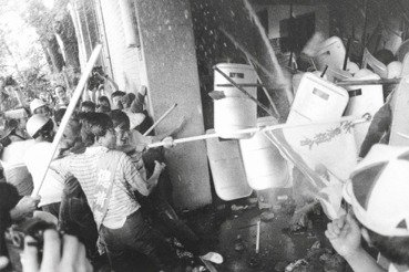 蔡孟翰/《國際橋牌社》中「拆掉立法院招牌的運動」——520農運
