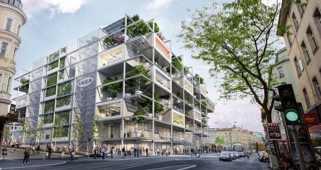 停車場的設置雖然解決搬運與交通上的不便,卻在無形中,製造大量二氧化碳。 圖/摘自...