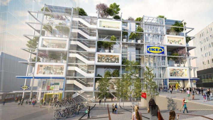 維也納市中心 7 層樓高的 IKEA 新分店將不提供任何停車位,並計劃於大樓 4...