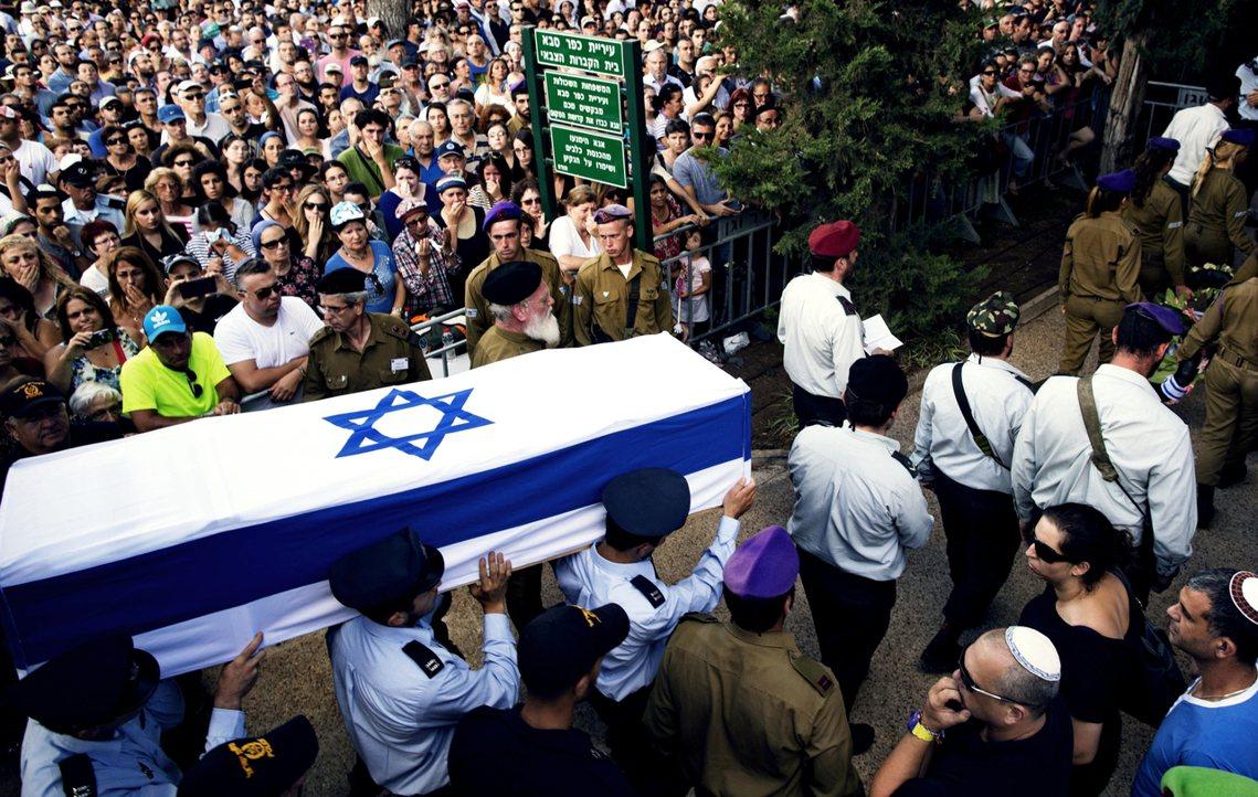 2014年以色列-巴勒斯坦戰爭中,於加薩境內陣亡的以色列軍人哈達爾.高丁少尉(H...
