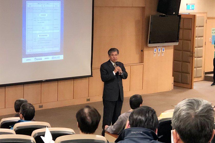 中國科大校長唐彥博勉勵教師把握每次研習的機會,提升個人的教學專業能力及確保教學品...