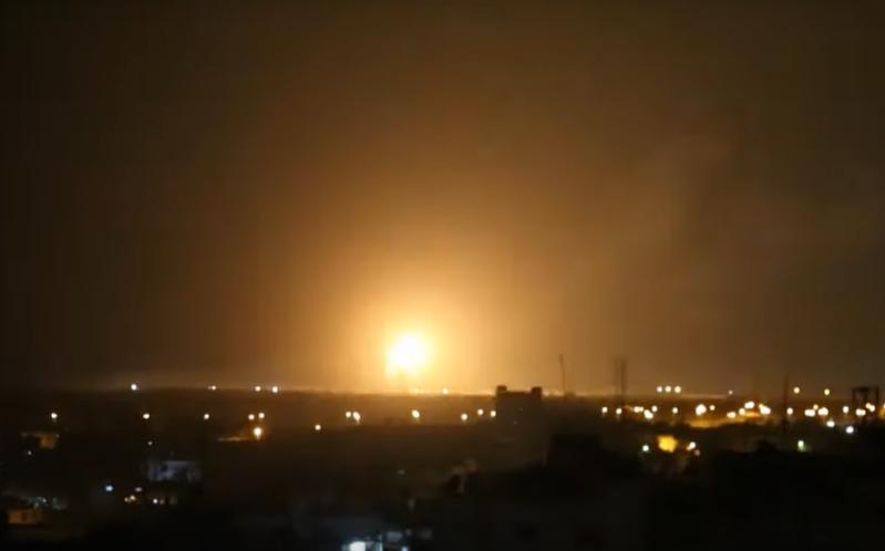 以色列於23日承認攻擊加薩與大馬士革附近吉哈德基地。(photo by Youtube影片截圖)