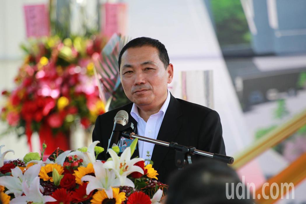 新北市長侯友宜表示,感謝大同大隈加碼投資新北。記者胡瑞玲/攝影