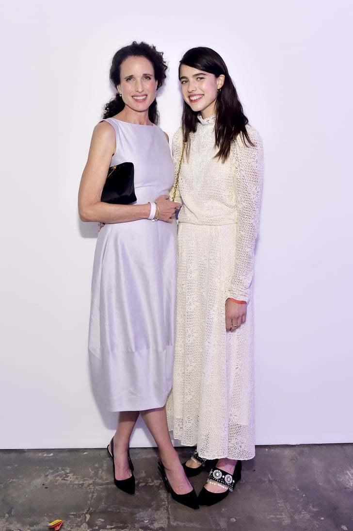 瑪格麗特庫利遺傳自媽媽安迪麥杜維的好氣質也讓她成為新一代的時尚寵兒。圖/摘自po...