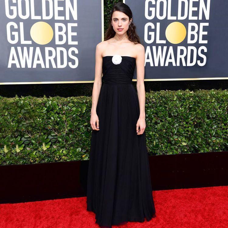 瑪格麗特庫利在今年金球獎也穿香奈兒禮服。圖/香奈兒提供